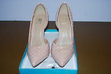 Easos Geal Pink Quilted Pump Size US 7.5M - 3 Inch Heal - Have Box as well.