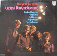 CABARET DON QUISHOCKING - WAAR HET VALT DAAR LEGT HET - LP