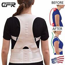 Adjustable Posture Back Lumbar Support Corrector Brace Shoulder Band Belt MLXL