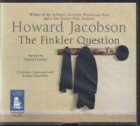 Howard Jacobson Finkler Question 11CD Audio Book Unabridged Humour Contemporary