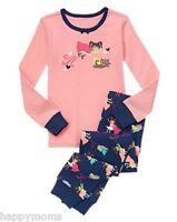 NWT Gymboree Girl's Size 4 Super Girl Superkitty Pink Sleepwear Pajamas NEW