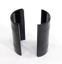 Bicycle Handlebar Shims/Adapter 22.2 to 25.4, Black
