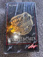 NEW Factory Sealed 1991 '91 Leaf Studio Baseball Box 48 Packs Rod Carew Puzzle