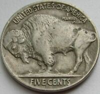 1918-D Buffalo Nickel in a SAFLIP® - XF- (VF+++)