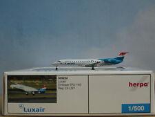 Herpa Wings 1:500 Embraer ERJ-145 Luxair (Art.Nr. 505222) *selten*