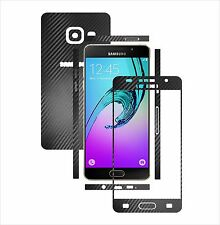 Textured Carbon Skin,Full Body Protector for Case,Wrap Samsung A5 2016 & Duos
