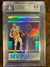 Lebron James 2019-2020 Mvp Contenders  NO.3 LA Lakers SP BGS 9.5 Gem MINT PSA10?