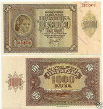 CROAZIA 1.000 KUNA 1941 FDS/UNC #B 53