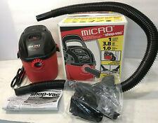 Shop-Vac 20210 Micro 1 Gallon Wet/Dry Vac Lightweight Portable Compact Vacuum