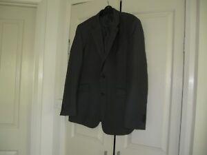 Men  Jacket design Boston Brother  Size XL  Dark Grey Light Grey pencil line