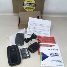 New listing Lg 440G - TracFone - Flip phone - Black - Smartphone - Prepaid plan - New Sealed