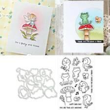 Bird Cutting Dies Stencils Clear Stamp DIY Scrapbooking Paper Card  Handwerk