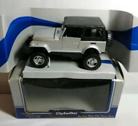 CITY SWIFTER - DIECAST - 4X4 WD - CLOSED TOP - SILVER - 76003 - BOXED