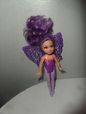 "2011 BARBIE FAIRY SECRET 6"" DOLL PURPLE FAIRY"