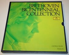 Beethoven Bicentennial Collection Volume 6 Choral Music