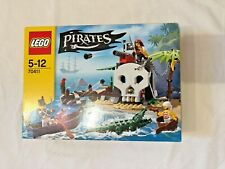 LEGO TREASURE ISLAND 70411 GOVERNORS PIRATES CROCODILE RETIRED RARE NEW SEALED