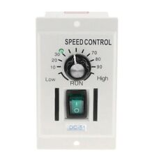 Ac 110V 400W Knob Motor Speed Controller Dc 0-90V Variable Adjust Lathe Control