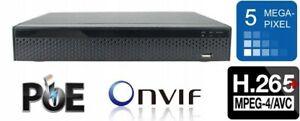 Recorder RTX NVR 3604DP – 9 Kanäle, 4xPoE, HDMI,  IP, PoE, für Überwachungssets