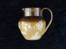 Doulton Lambeth en miniatura gres C1910 Jarra de cosecha