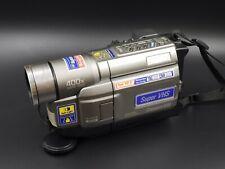 JVC GR-SXM330U S-VHS, VHS-C Analog Camcorder - Untested