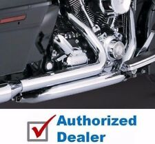 Vance & Hines Chrome True Dresser Duals Header Pipes Exhaust 2009-2016 Touring