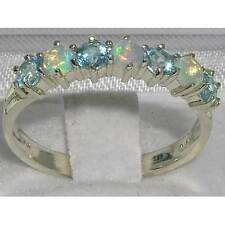 Topaz Heating Round Fine Gemstone Rings