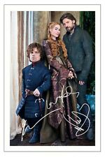 PETER DINKLAGE LENA HEADEY COSTER-WALDAU GAME OF THRONES SIGNED PHOTO PRINT
