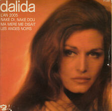45TRS VINYL 7''/ RARE FRENCH EP BARCLAY DALIDA / L'AN 2005 + 3