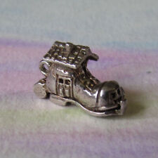 VINTAGE SILVER OPENING SHOEHOUSE CHARM