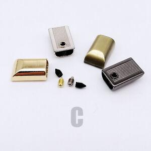 Metal Leather Bag Handbag Coat Zipper Stopper Zip End Stop Lock Tail Plug Repair