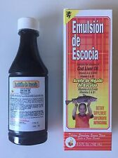 EMULSION SCOTT ACEITE HIGADO D BACALAO COD LIVER OIL ORANGE FLAVOR 6.5 Oz