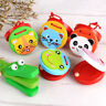 1PC Cartoon Animal Shaped Wooden Castanet Toy Musical Instrument Children Gifts