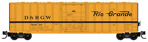 Micro-Trains MTL Z-Scale 50ft Box Car Denver & Rio Grande Western/DRGW #50638