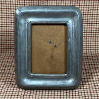 Vintage FECIT VCM PEWTER Picture Frame Artisan Handmade In Portugal - Wood Back