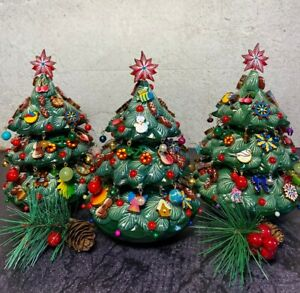 Wooden Christmas Tree Christmas Home Decor Roly-Poly Christmas Tree New Year
