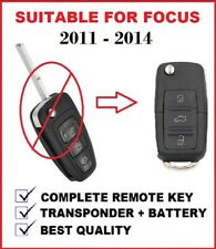 3b Remote Transponder Car key Suitable for Ford focus  2011 2012 2013 2014