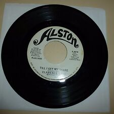 NORTHERN SOUL 45 RPM RECORD - CLARENCE REID - ALSTON 4616 - PROMO