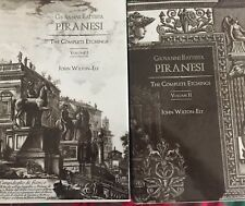 PIRANESI THE COMPLETE ETCHINGS VOL 1-2 First Edition John Wilton-Ely 1994