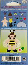 Eksuccess Mini PaperKins Paper Dolls - Busy Bee Bonnie - Pkms014 - New