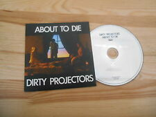CD Indie Dirty Projectors - About To Die (1 Song) Promo DOMINO