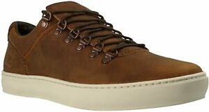 Mens Timberland Brown leather casual shoes size UK 7.5  EUR 41.5 A1IK3 Alpine
