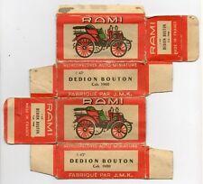 Boîte copie repro RAMI 1/43è DE DION BOUTON Cab. 1900 ( reproduction box vide )