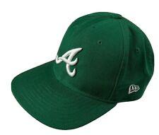 Atlanta Braves Green MLB Baseball Cap St. Patrick's Day 2001 New Era Snapback
