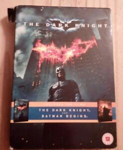 The Dark Knight and Batman Begins DVD boxset good condition