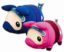 NEW Monster Hunter  Prize Big  Ninja Poogie set Pugee Pig  Plush Toy Doll