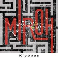 K-pop STRAY KIDS Cle1 : MIROH 4th Mini Album Random+CD+P.Book+QR Photo Card 3p
