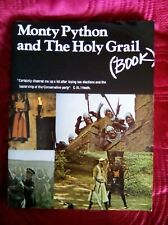 Monty Python and The Holy Grail Book *RARE* Illustrated Screenplay - Paperback