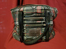 Coach Poppy Tartan Signature Glam Tote G0982 14360 Used Never Used Very Clean