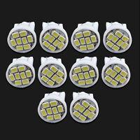10PCS T10 W5W 194 168 501 White 8 LED Bulb 3020 SMD Car Wedge Side Light Lamp