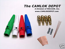 Cooper Camlok 2/0 - 4/0 MALE Single Phase Kit